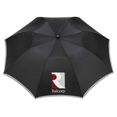 "42"" Auto Open Folding Safety Umbrella"